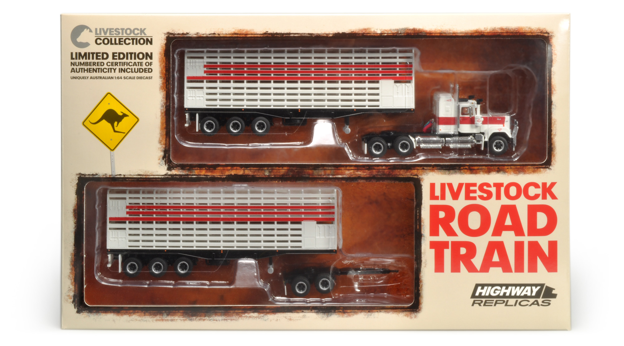 12002 Livestock Road Train Highway Replicas